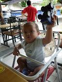 baby putra haikal-romper size 12m