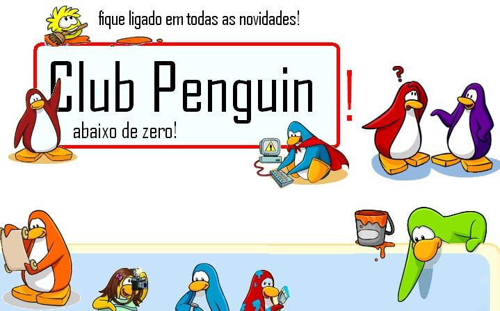 Club Penguin - abaixo de zero