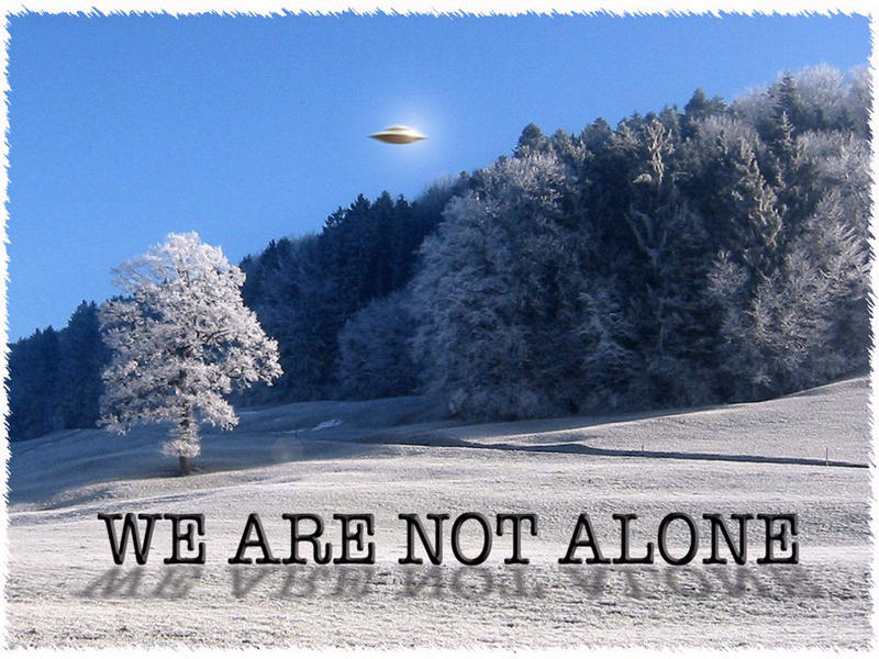 ufos were not alone Buy we are not alone: why we have already found extraterrestrial life on amazoncom free shipping on qualified orders.