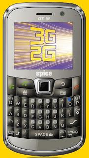 Spice QT-95 3G Dual-SIM handset