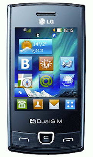LG P520 Dual SIM Touchscreen Phone Features