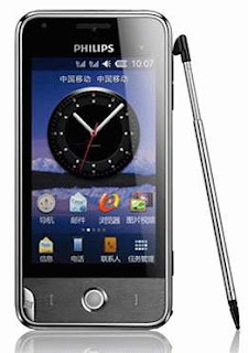 Philips V816 dual sim Smartphone images