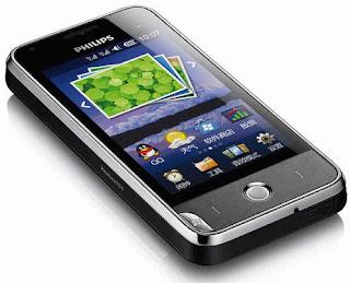 Philips V816 dual sim Smartphone pics