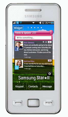 Samsung S5260 Star II Smartphone images