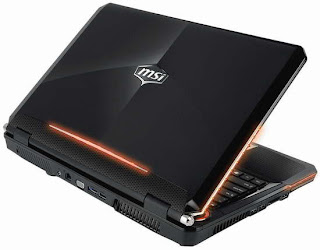 MSI GT680 super powerful Gaming Notebook pics