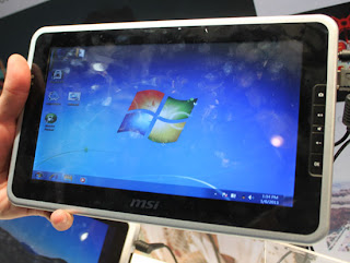MSI WindPad 100W Windows tablet pics