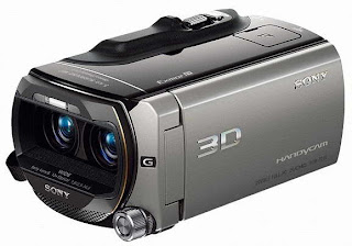 Sony HDR-TD10 3D Full HD Camcoder pics
