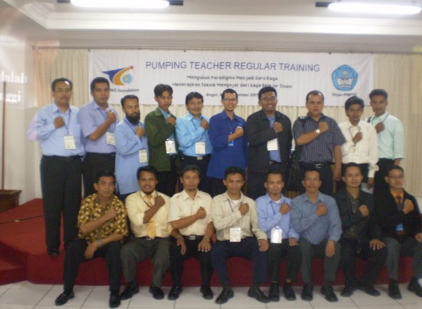 Program Pumping Teacher untuk Guru Indonesia