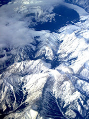 Areal View of Rocky Mts. 02/08
