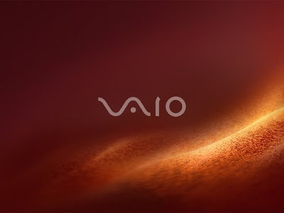 red and black wallpaper. VAIO Wallpaper 2008 - Red