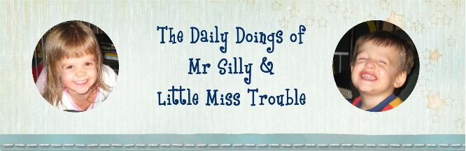The Daily Doings of Mr Silly and Little Miss Trouble