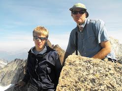 Jon and Ian at the top of Sahale