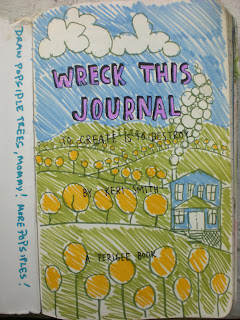 Girl- Rowena Murillo: Kids and Moms, Wreck This Journal and 59-63