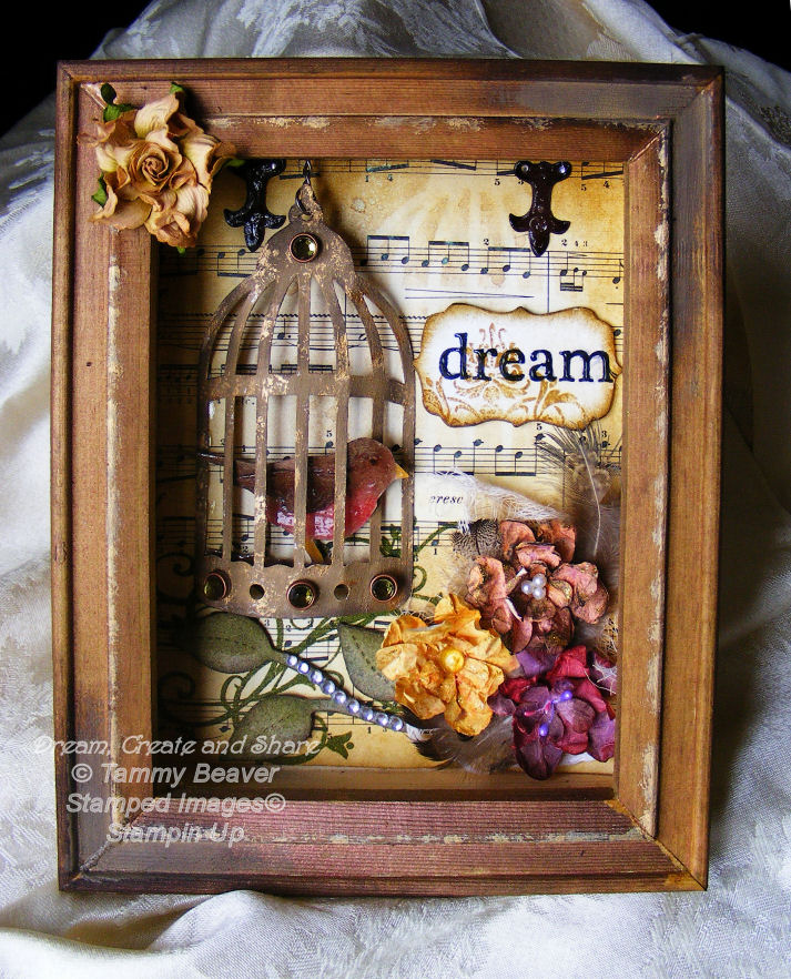 Scrapbook Shadow Boxes