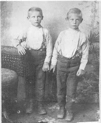 Albert and Adelbert Asay (Twins)