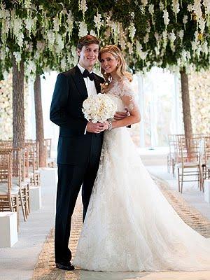 Centrum Slubne Dekoracje ślubne ślub Ivanki Trump