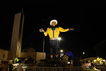 That's Big Tex at the State Fair of Texas
