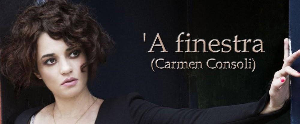Il fannullone carmen consoli presenta 39 a finestra - Carmen consoli a finestra ...