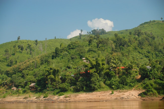 Langs de Mekong in Laos