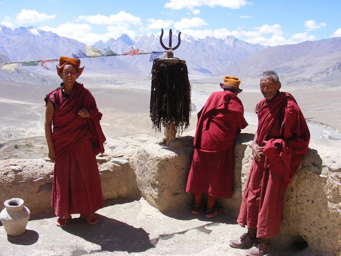 Mönche in Stongde