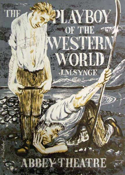 the playboy of the western world critique The play focuses on the reception given to christy mahon as he wanders into a small irish village, declaring that he has just murdered his father moreover, he is a interesting fellow from the beginning to the end of the play in the playboy of the western world jm synge portrays his protagonist as.