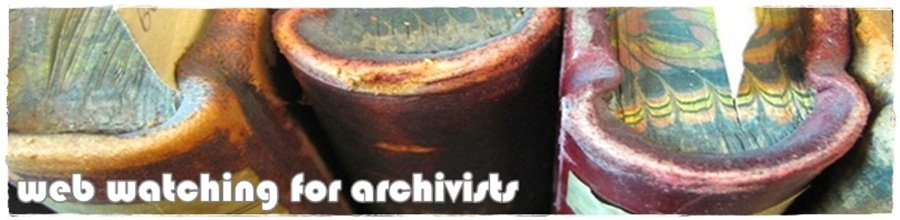 Web Watching For Archivists