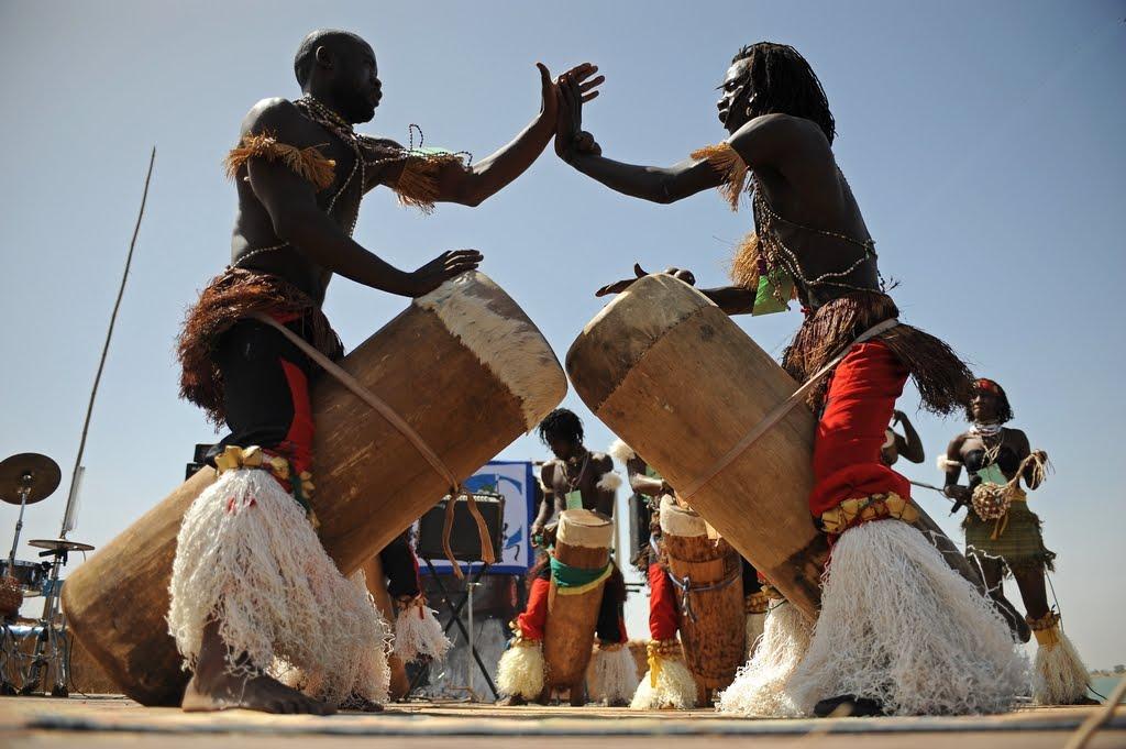 Tambores del Africa un mensaje indescifrable