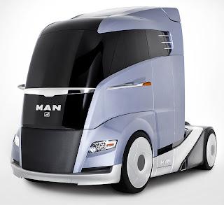 MAN Concept S - Futuristic Truck Concepts