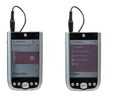 szenografie, media guide, per pegelow, museum, multimedia, audioguide