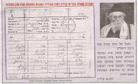 Telegramma del Chazon Ish sulle elezioni alla knesseth