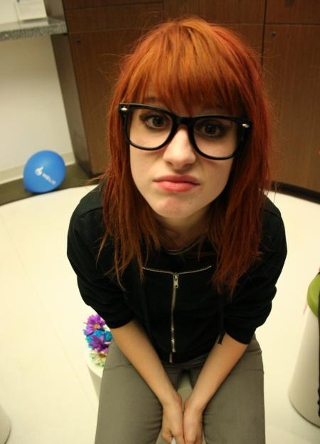 vocalist of paramore. paramore hayley williams