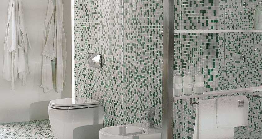 Azulejos Baño Modernos Porcelanosa:Baños modernos -Tendencias en azulejos – Casa Haus Decoración
