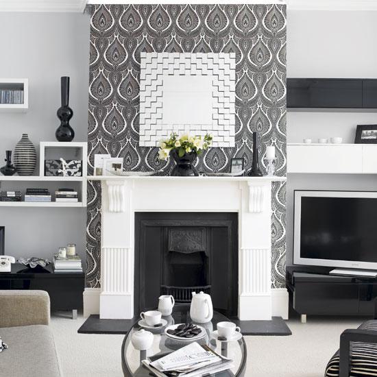 El retorno del papel tapiz   casa haus decoración