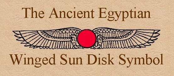 Eclipsology The Winged Sun Disk Symbol Of Ancient Egyptian Religion