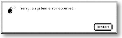 system restart