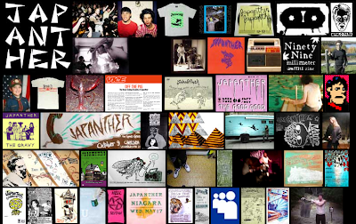 Japanther Website
