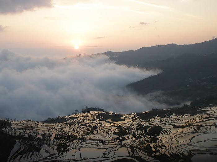 arrozales en yuanyang