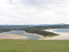 playa y rio