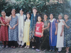 Roxanne and her Nepali sisters