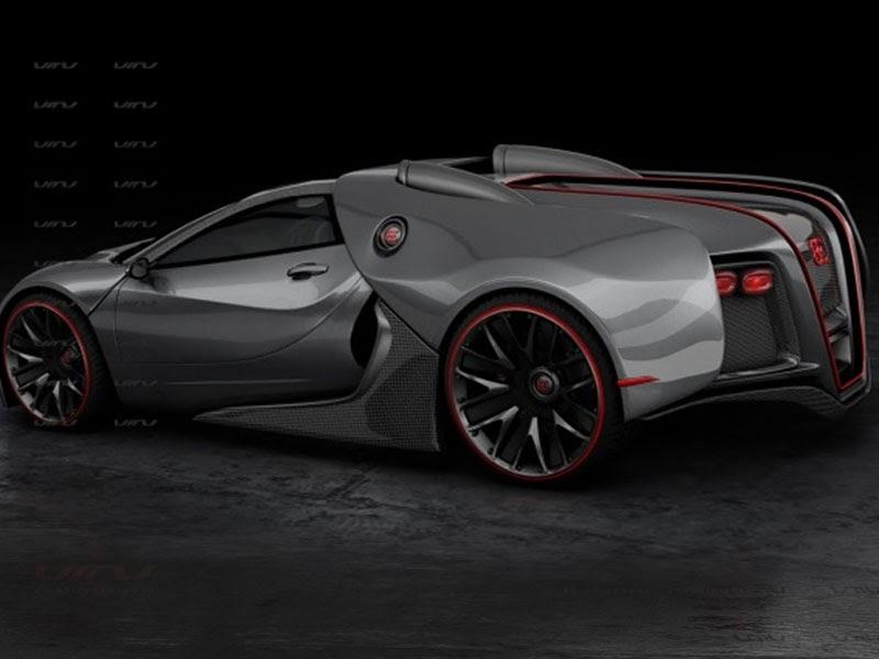 Bugatti Tractor Bugatti Renaissance Concept