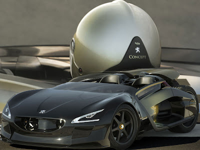 Exceptional Concept Car   Peugeot Electric Car EX1 Concept Cars