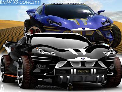 Nice BMW Sport Cars X9 Concept By Khalfi Oussama