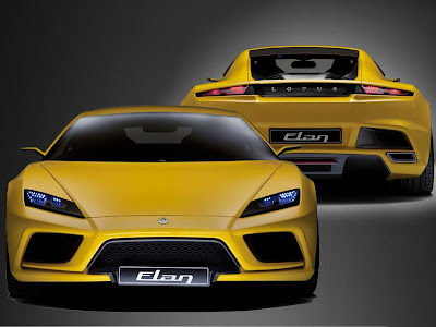 Lotus Concept Car - Lotus Elan
