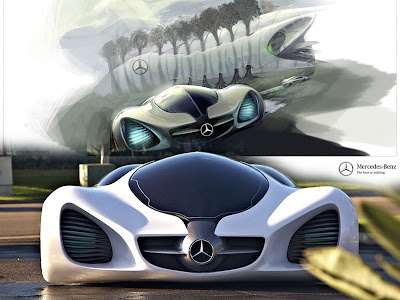 2004 Mercedes Benz Grand Sports Tourer Vision R Concept. The Mercedes-Benz BIOME