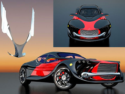 Automotive News Wings of Nike Sport Cars Concept