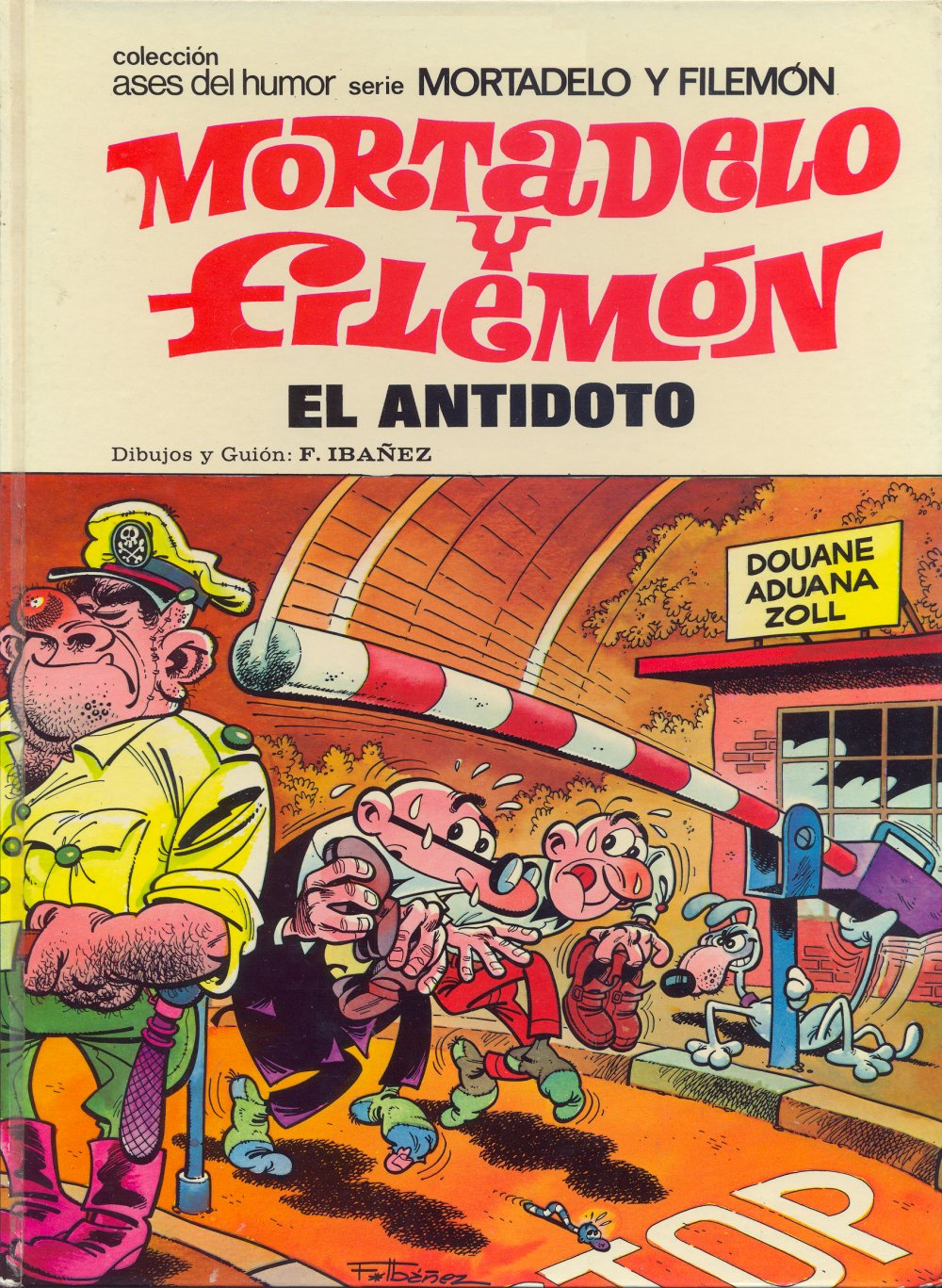 El Antídoto - Mortadelo y Filemón