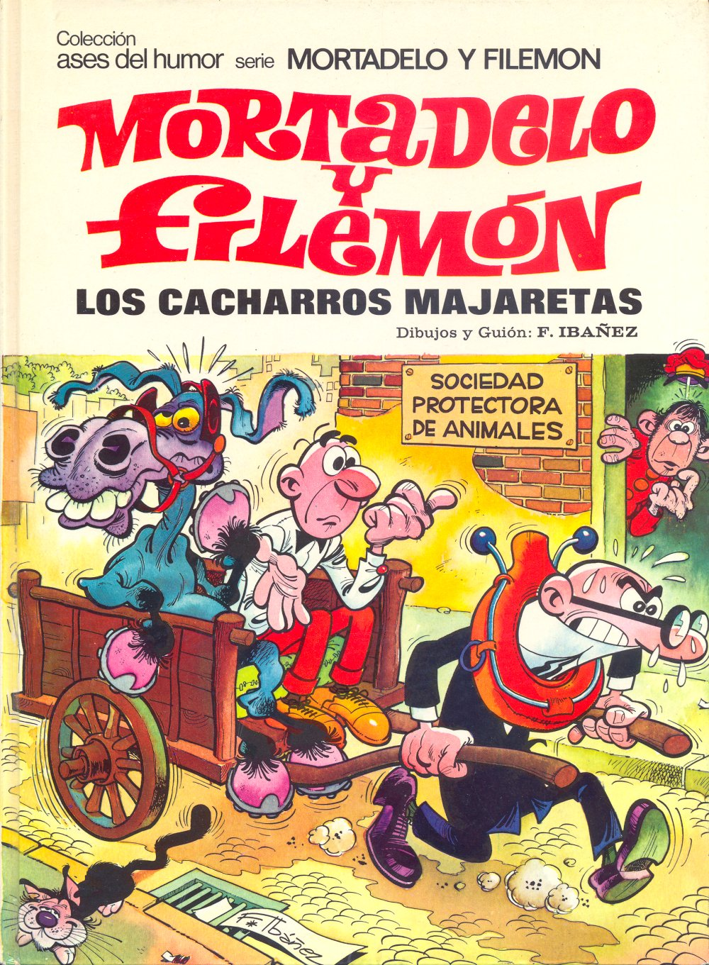 Los Cacharros Majaretas - Mortadelo y Filemón