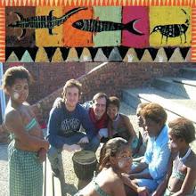 Alberto y amiguitos en África
