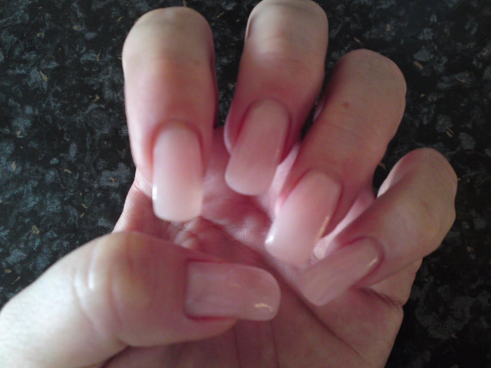 Pinkissimo Pinkhair: My new set of gel nails and QVC