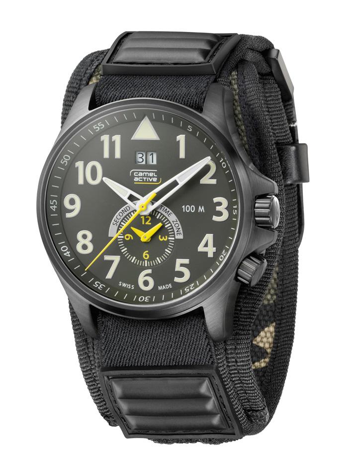 4d3eea4d525 Regresso ao Futuro Novos relógios camel active TIMEWEAR